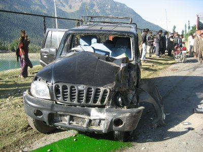 After the Accident Outside Srinagar, India</p><p>[b