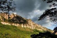 Dark clouds in Vale do Pati