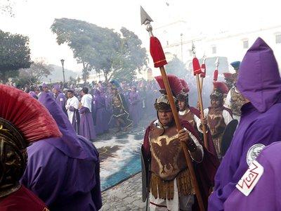 Roman Soldiers making way