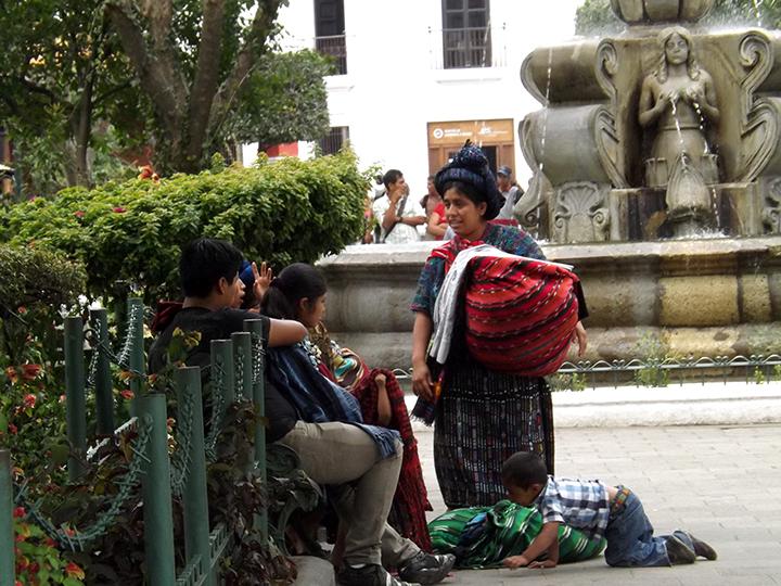 Parque Central Vendors