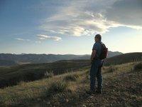 On the trail near Denver, Colorado.