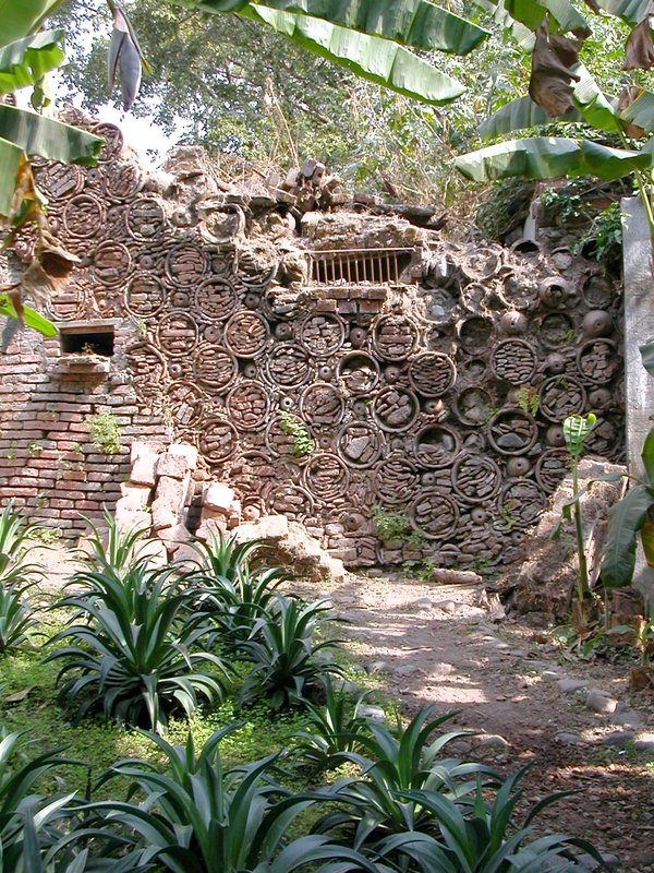 Wall at Hacienda de Nogueras
