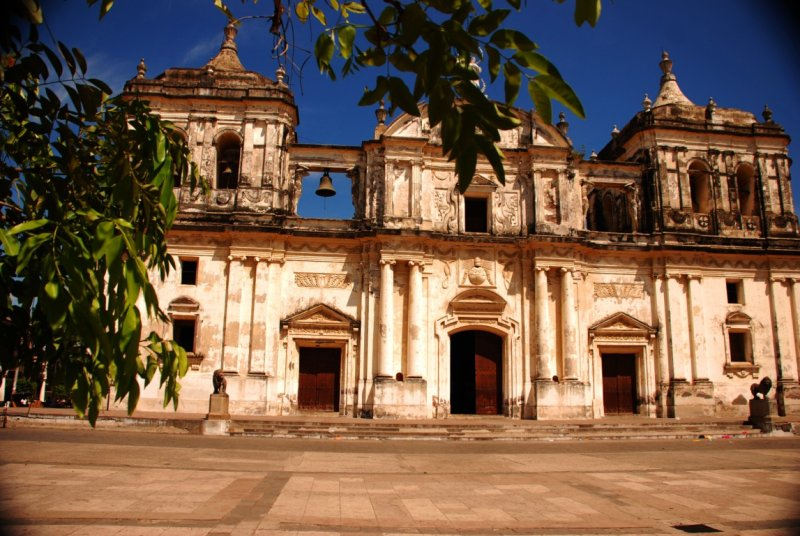 A Cathedral in Leon - Nicaragua