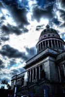 Cloudy day over La Havana
