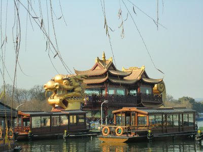 Dragon Boat on the West Lake