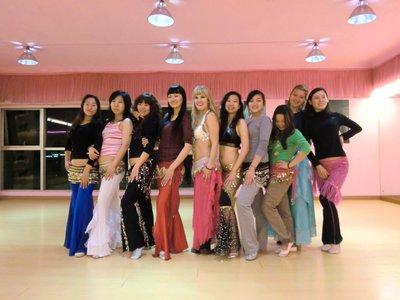 Bellydancing Class in Guangzhou
