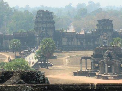 Misty Ankor Wat