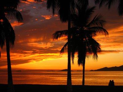 Sunset in Puerto La Cruz
