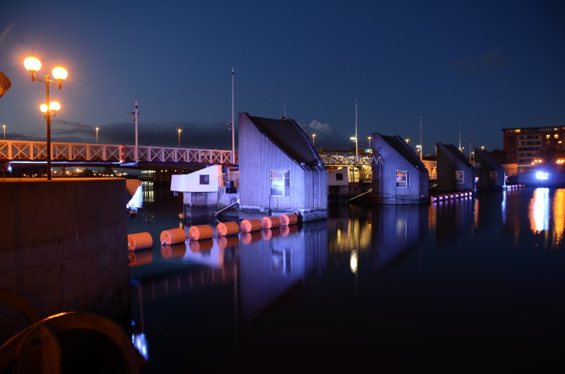 The River Lagan Tidal Barrier