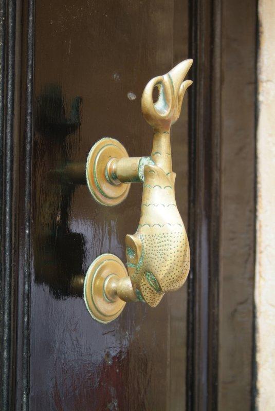 Unusual knocker