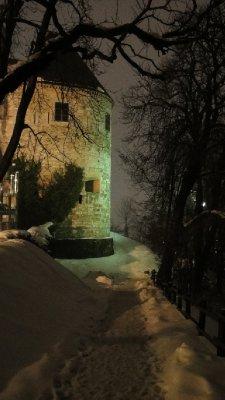 Tower on Castle Hill, Ljubljana, Slovenia