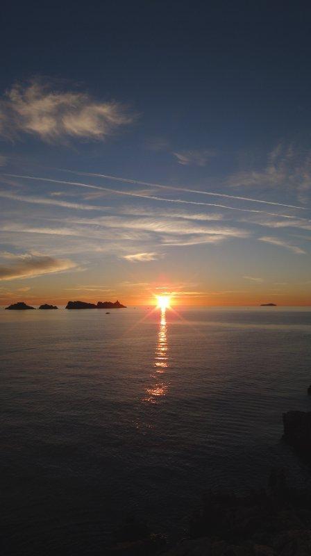 Sunset from Lapad, Dubrovnik, Croatia