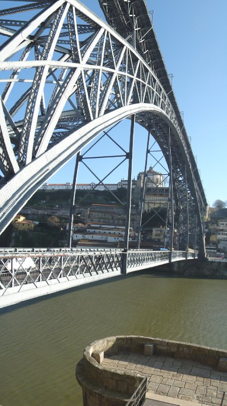Under Ponte Luis I, Porto, Portugal