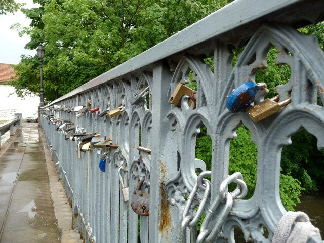 When people get married in Lithuania the groom should carry the bride over a bridge