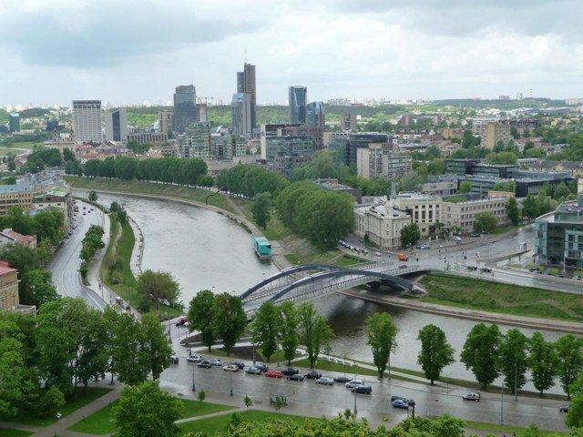 View from Gediminas tower, Vilnius