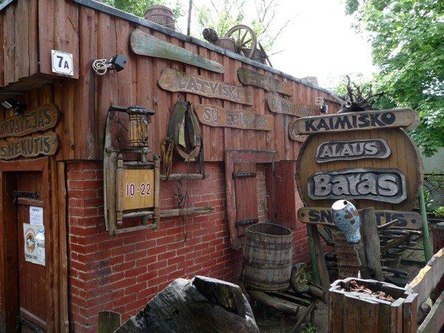 A pub in the Uzupis district, Vilnius