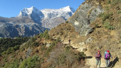 Everest Base Camp trek.