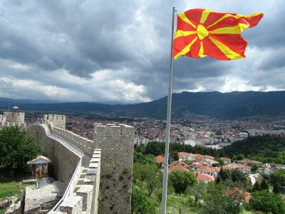 Castle in Ohrid, Macedonia