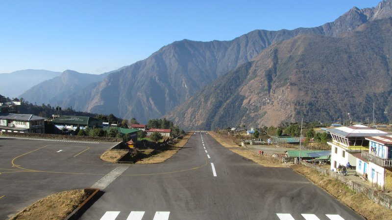 Everest Base Camp Trek, Lukla Airport