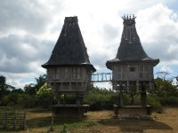 Stilted houses