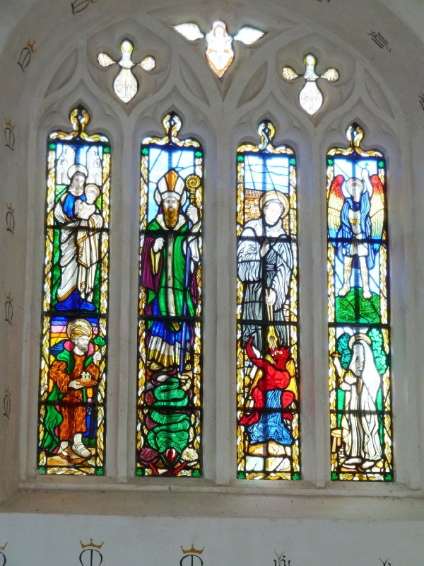 Church in Glasonbury Abbey