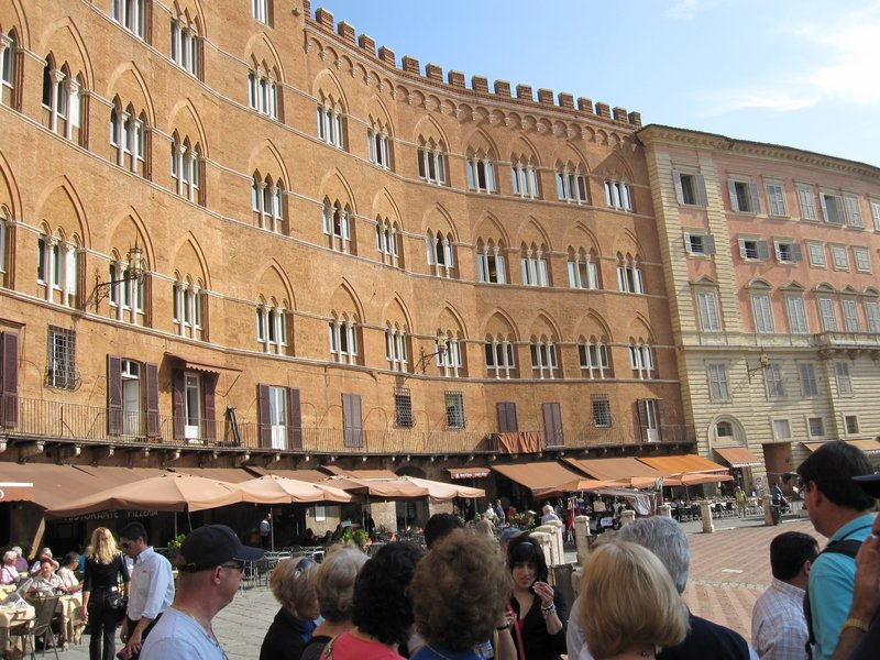Views of our travels to Siena