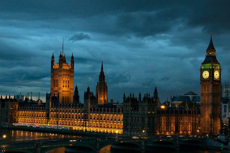 Westminster at Nightfall