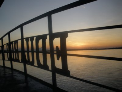 sunset on the eduardo