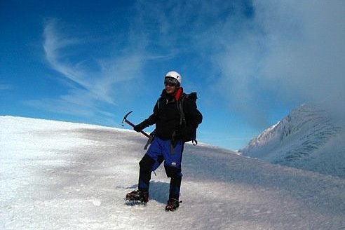 Me on top of Volcan Villarrica