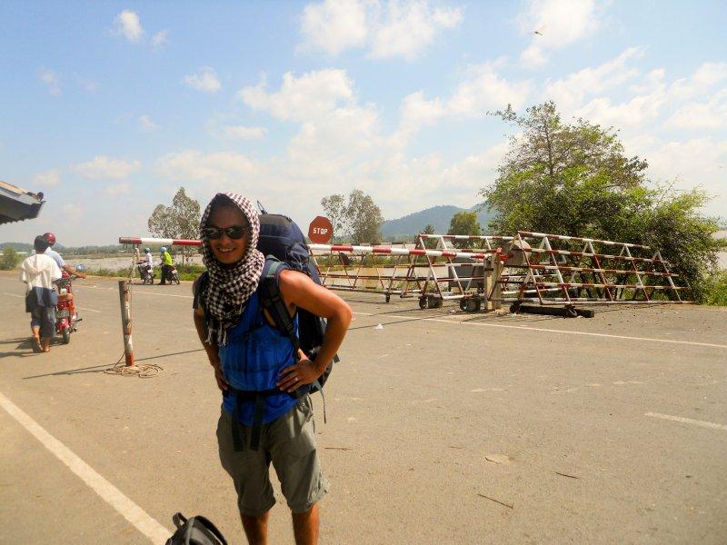 Me @ Cambodia Vietnam Border