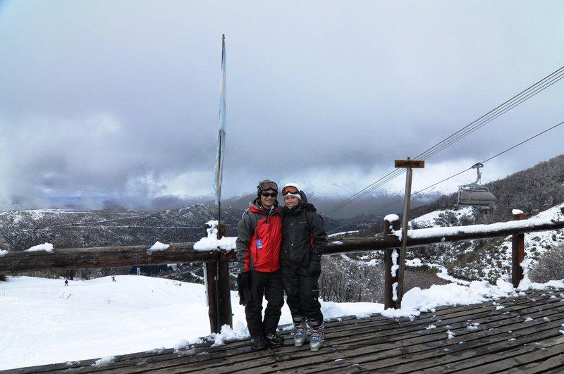Sam and I on Cerro Catedral