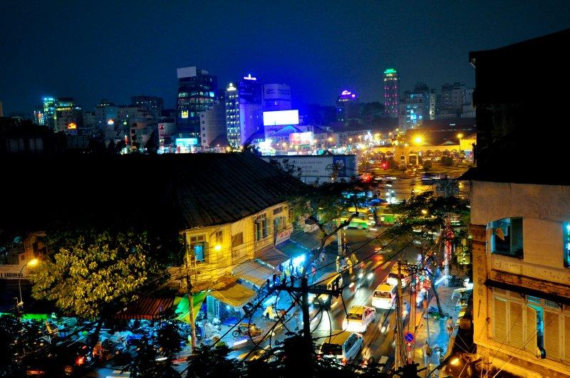HCMC from my hotel room