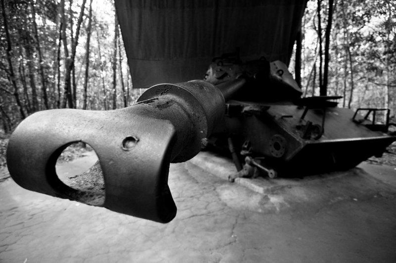 US Tank at a Drive Thru