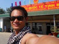 Me @ Vietnam Immigration Office