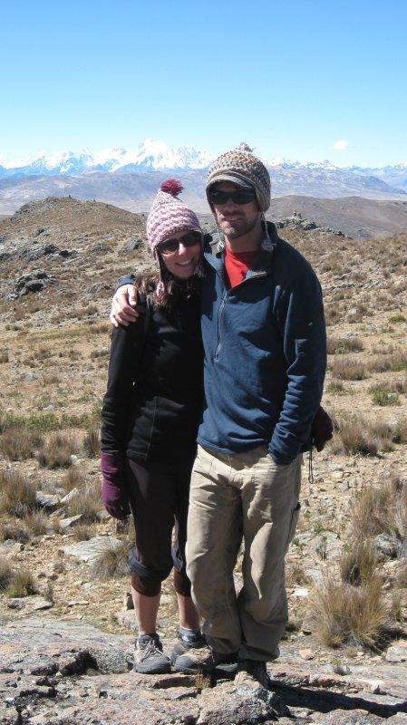 Hiking in the Cordillera Negra