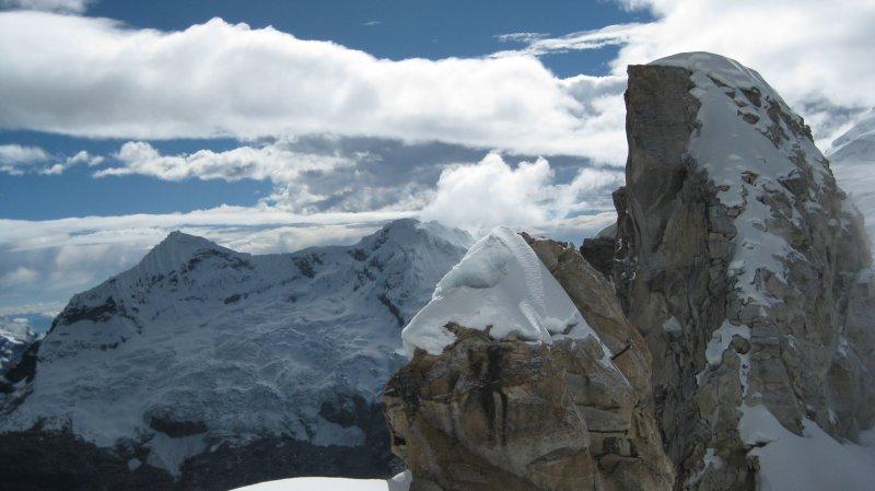 Cordillera Blanca View from Nevado Urus