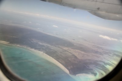 Cayos from above