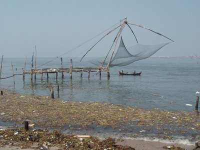 Fort Cochin - Chinese Fishing Nets