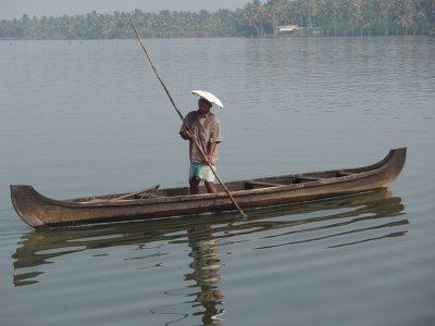 Freshwater mussel fisherman