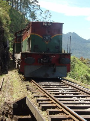 Dodging the train