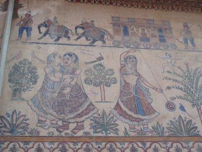 Gypsy mural