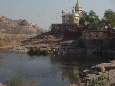 Jaswant  Thada memorial to Maharaja Jaswant Singh II
