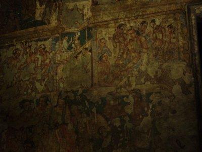 Ajanta - cave painting