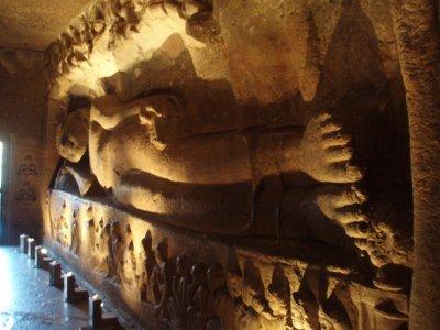 Ajanta - reclining Buddha