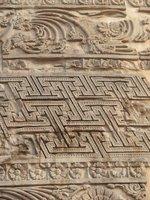 Sarnath - Dhamekh Stupa detail