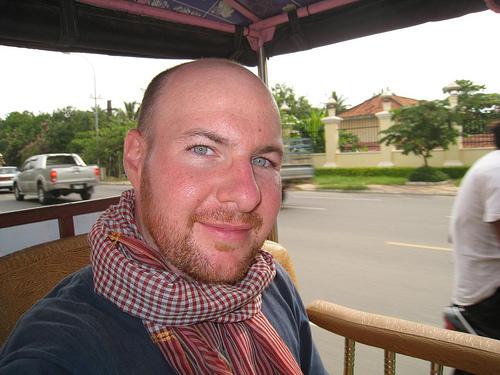 Riding around Siem Reap