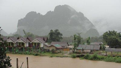 Vang Vieng Hotel View