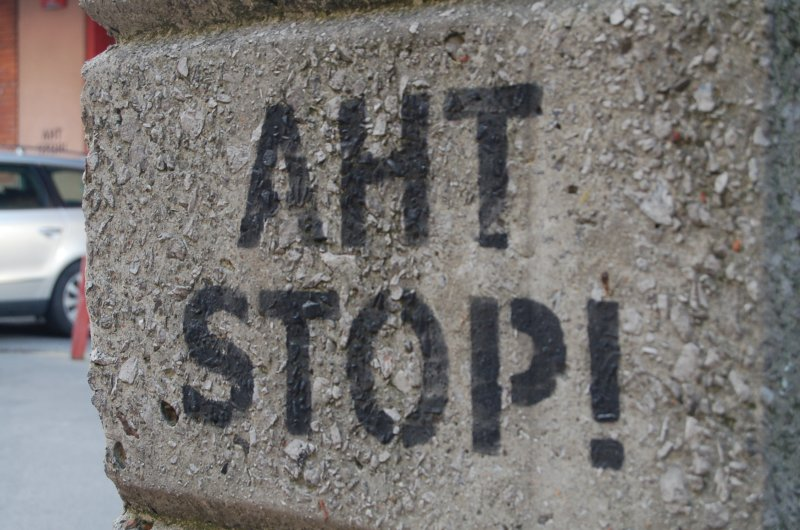 Against AHT in the Basque Country