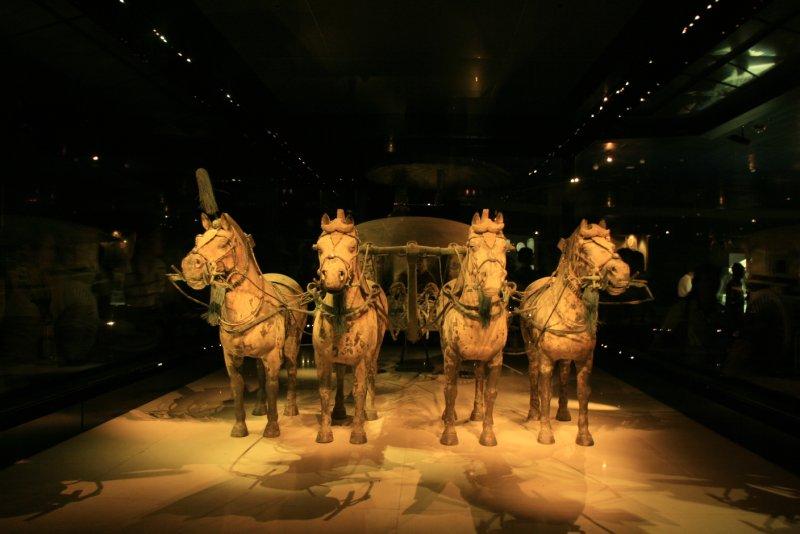Bronze Chariot-Front