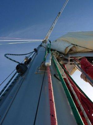 Mast of Eureka II Whitsunday Islands